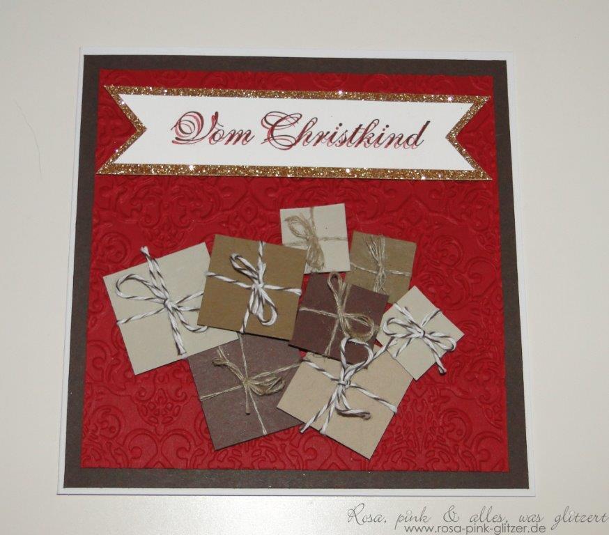 Stampin up Landshut - imc73 - Weihnachtskarte 1