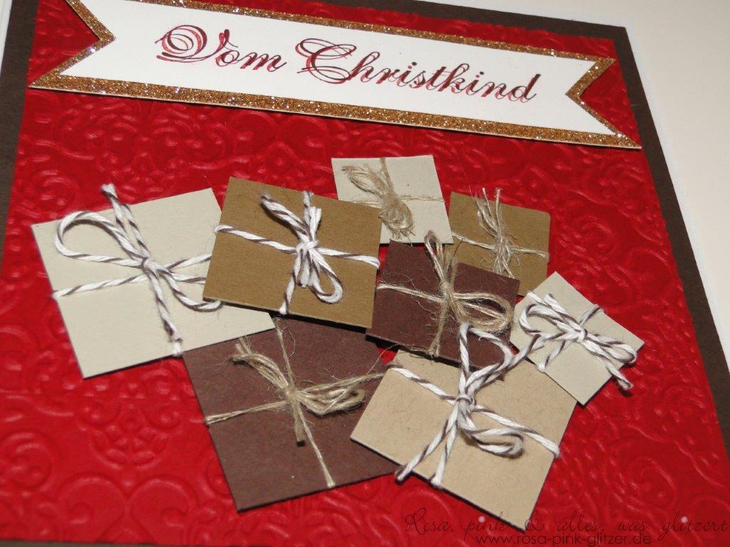 Stampin up Landshut - imc73 - Weihnachtskarte 2