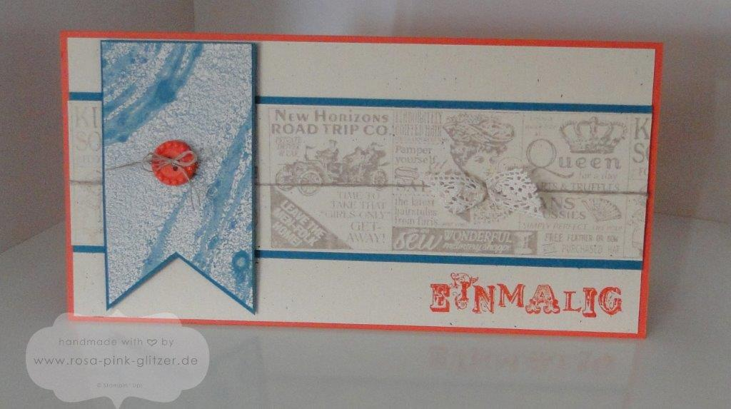Stampin up Landshut - Shop around - Geburtstagskarte