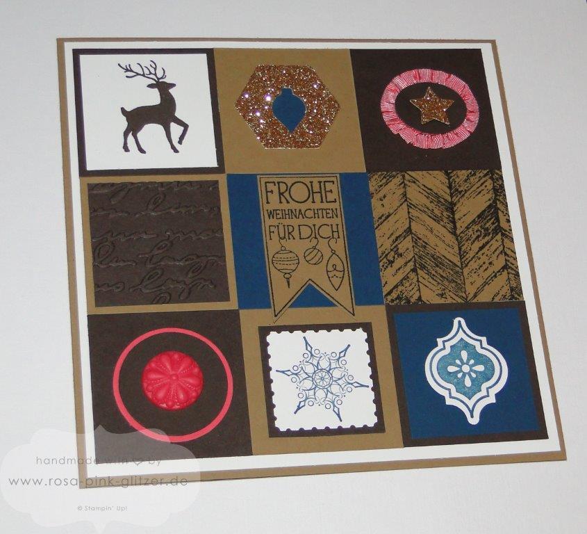 Stampin up Landshut - imc112 - weihnachtskarte inchies