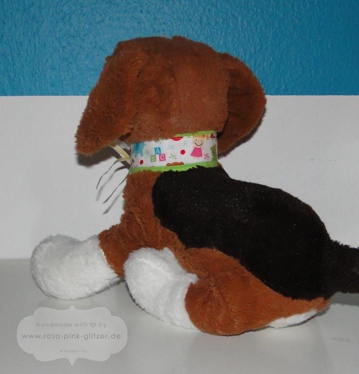 Stampin up Landshut - Halsband für den Hund 2