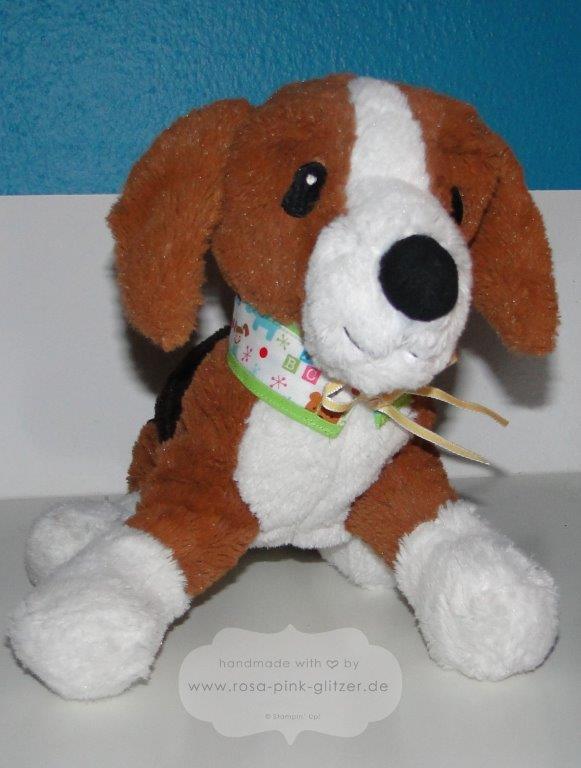 Stampin up Landshut - Halsband für den Hund 3