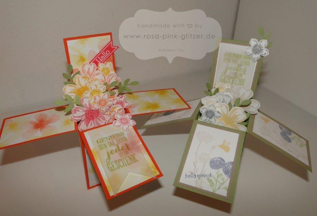Stampin up Landshut - card in a box - 1 Kopie