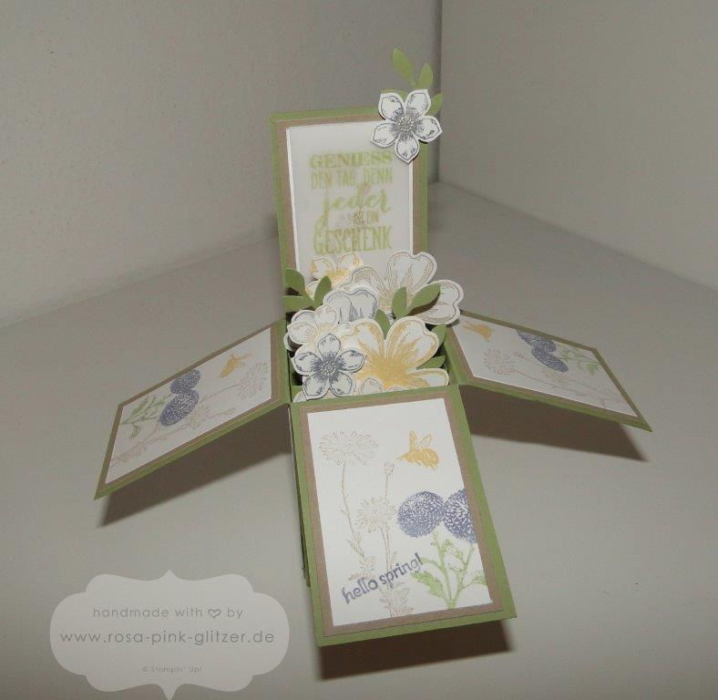 Stampin up Landshut - card in a box - 2