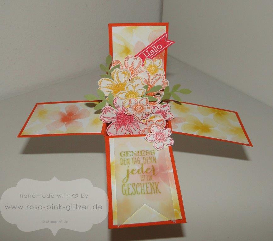 Stampin up Landshut - card in a box - 4
