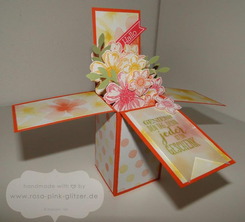 Stampin up Landshut - card in a box - 5
