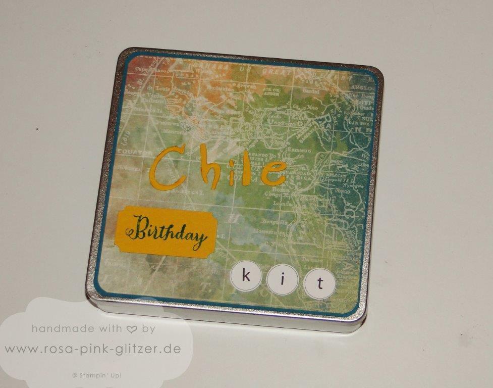 Stampin up Landshut - Chile Birthday Kit