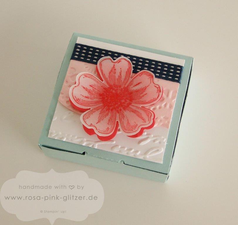 Stampin up Landshut - Geburtstagskarte Blume Flowermarket 4