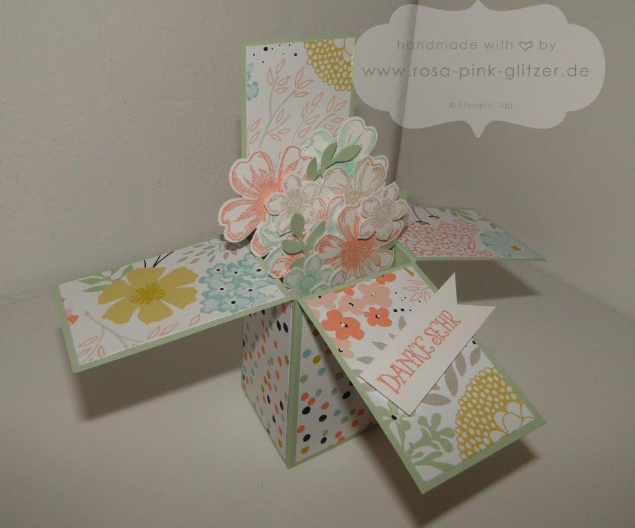 Stampin up Landshut - Card in a box sale a bration 2014 2