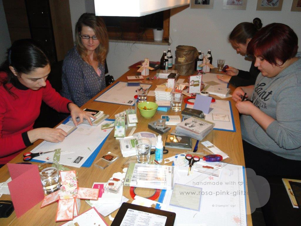 Stampin up Landshut - Workshop Stempelparty 2