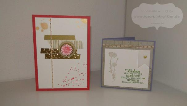 Stampin up Landshut - Workshop Stempelparty 9