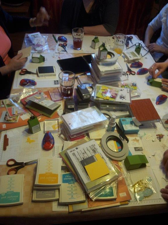 Stampin up Landshut Workshop Stempelparty Oberpfaffenhofen 3