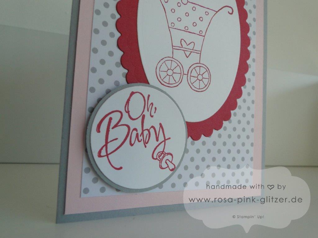 Stampin up Landshut - Babykarte Fürs Baby zur Geburt imc 1