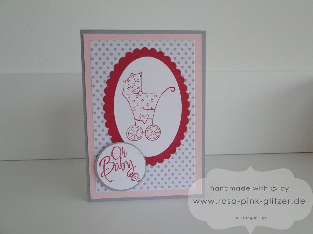 Stampin up Landshut - Babykarte Fürs Baby zur Geburt imc 2