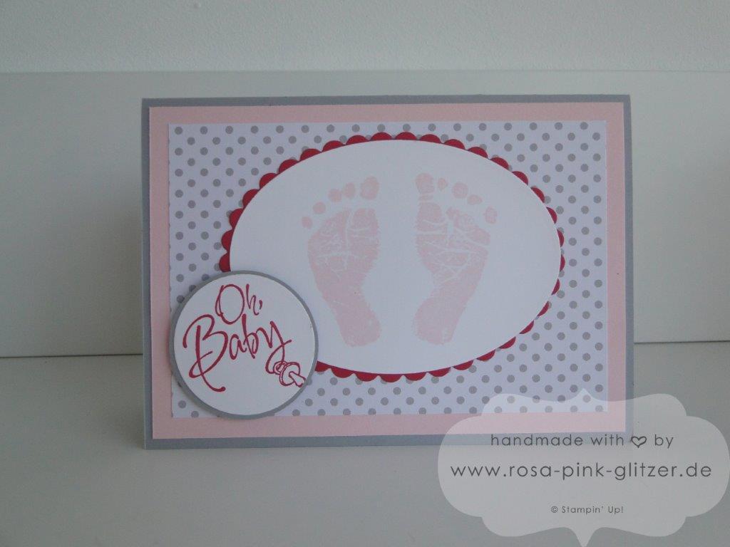 Stampin up Landshut - Babykarte Fürs Baby zur Geburt imc 3