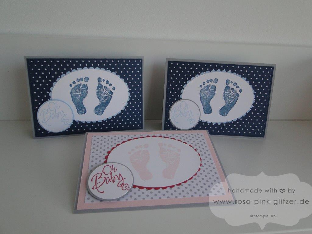 Stampin up Landshut - Babykarte Fürs Baby zur Geburt imc 5