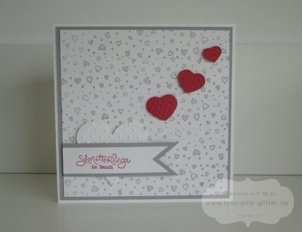 Stampin up Landshut - Hochzeitskarte Standesamt 1