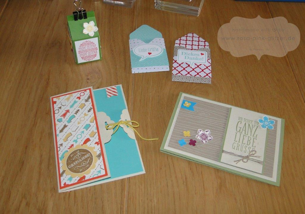 Stampin up Landshut Workshop Stempelparty März 2014 2