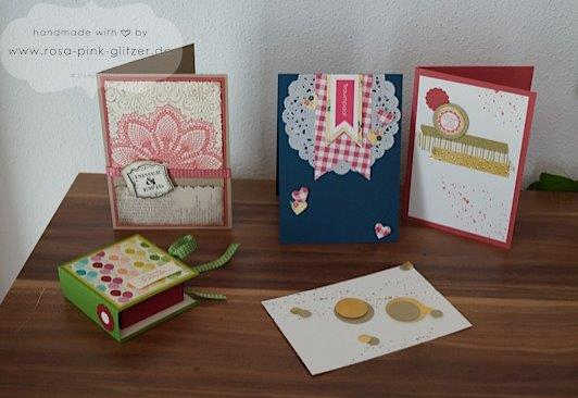 STampin up Landshut Workshop Stempelparty Zweikirchen 1