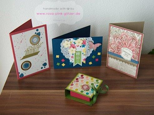 STampin up Landshut Workshop Stempelparty Zweikirchen 2