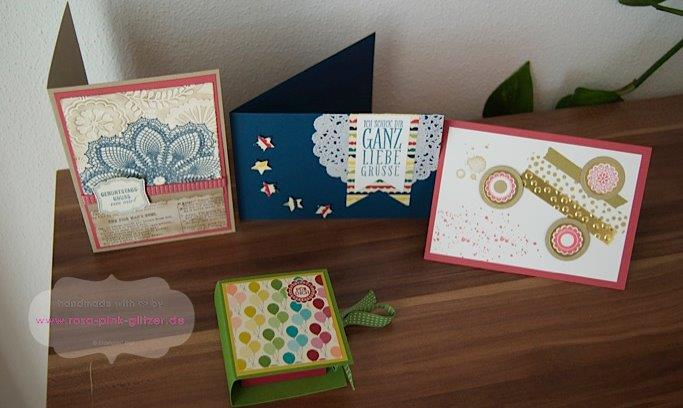 STampin up Landshut Workshop Stempelparty Zweikirchen 4