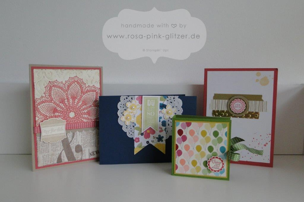 Stampin up Landshut - Workshop Zweikirchen 1