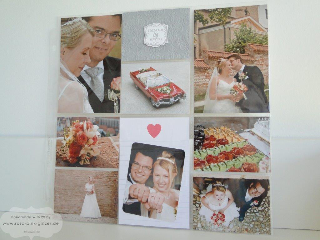 Stampin up Landshut - Project Life Hochzeit 1