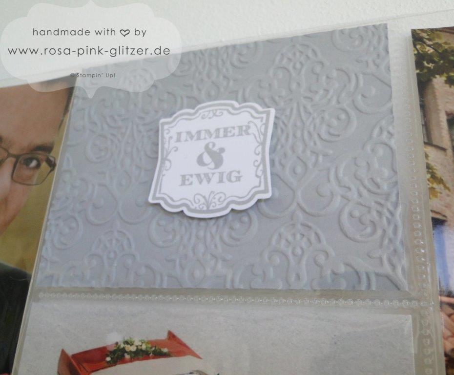 Stampin up Landshut - Project Life Hochzeit 2