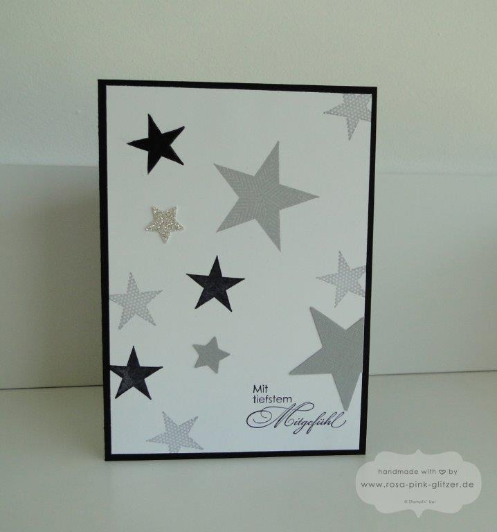Stampin up Landshut - Trauerkarte Baby Seeing Stars