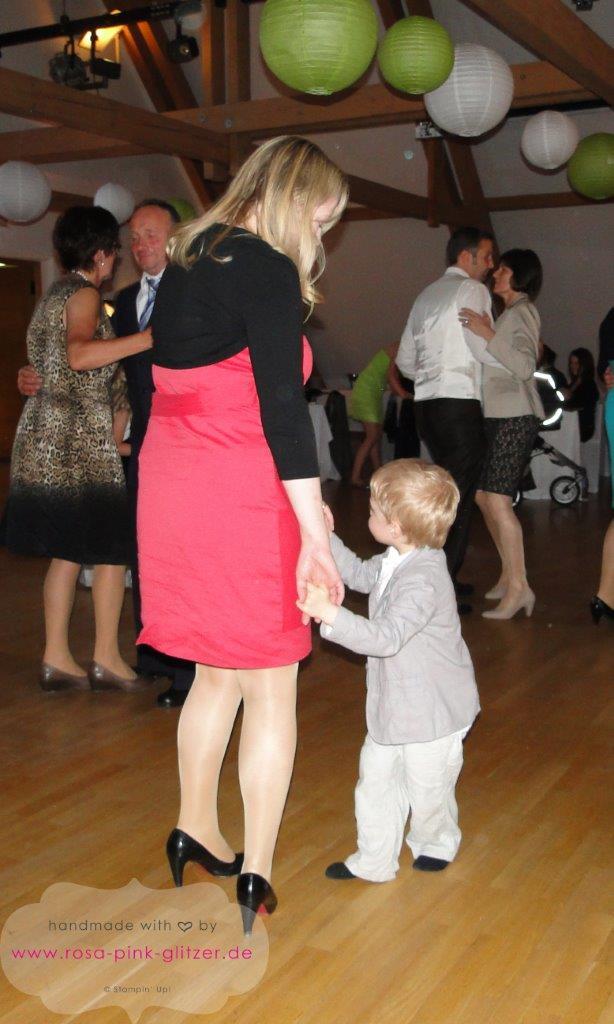 Stampin up Landshut - Hochzeit Kirstin und Sebastian beim Tanzen