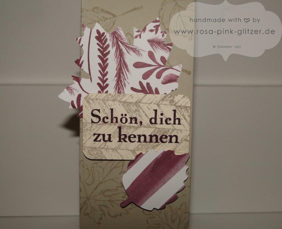 Stampin up Landshut Blog Hop 1