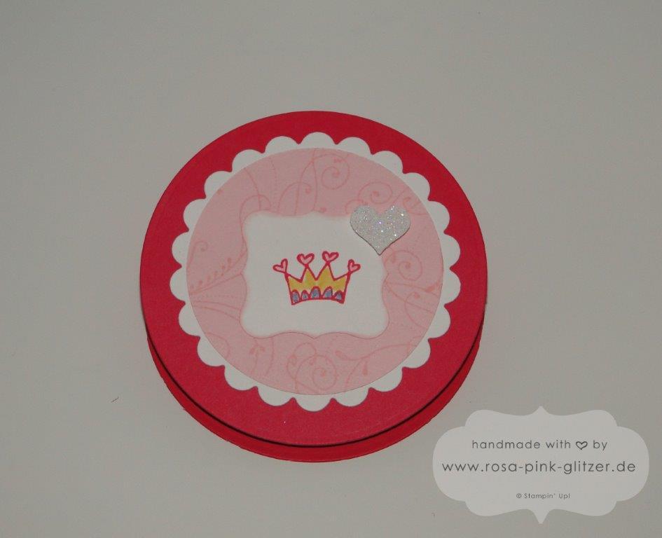 Stampin up Landshut - Geburtstagskarte Kindergeburtstag Prinzessin Itty Bitty Bits 1