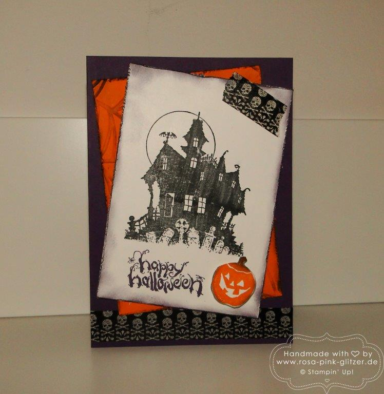 Stampin up Landshut - House of Haunts Halloween 1