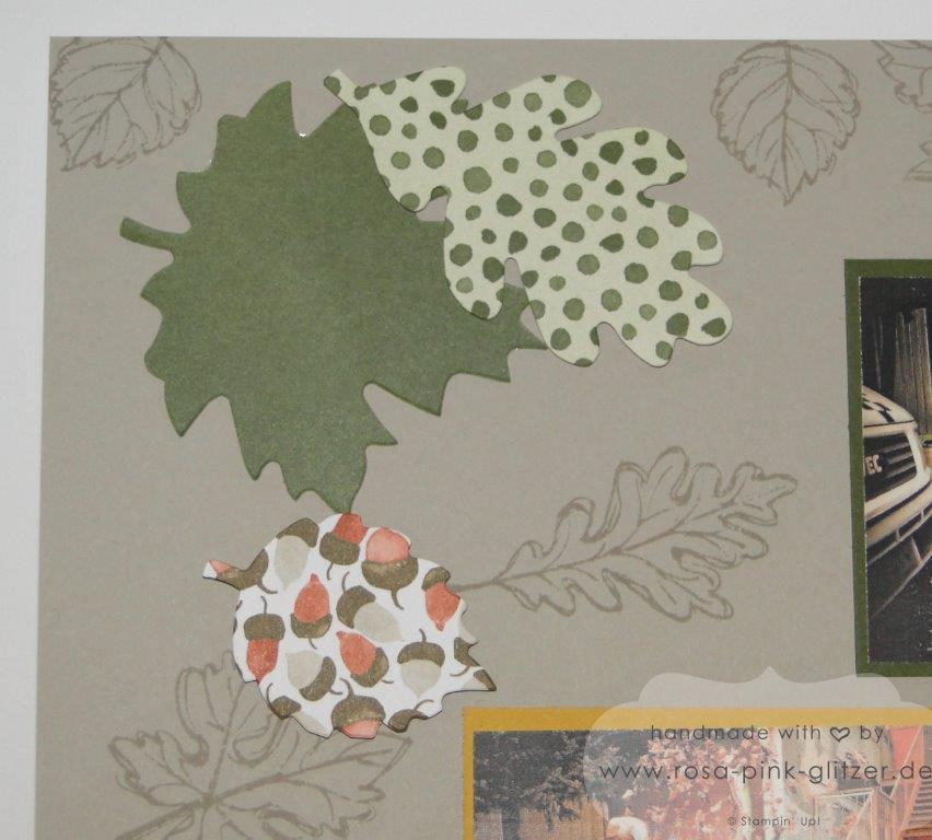 Stampin up Landshut - Layout Herbst Gently Falling 3