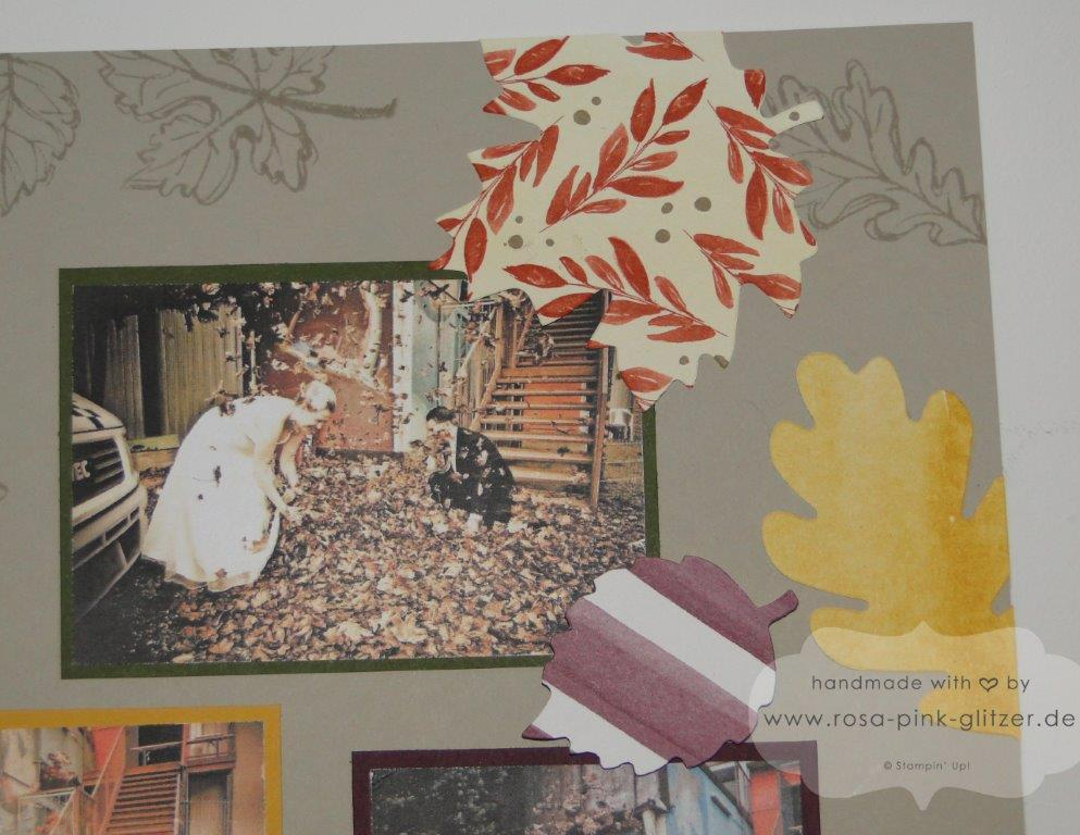 Stampin up Landshut - Layout Herbst Gently Falling 4