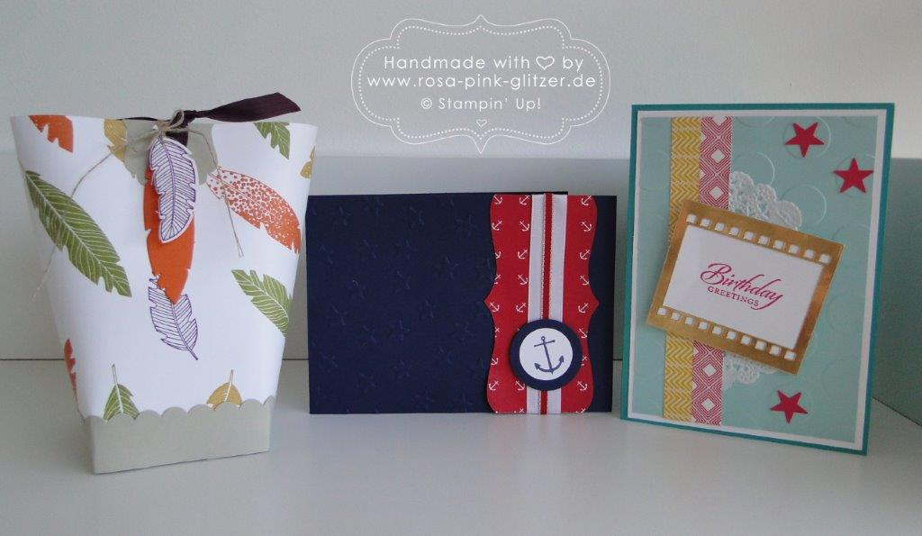 Stampin up Landshut - Projekte Workshop August 2014