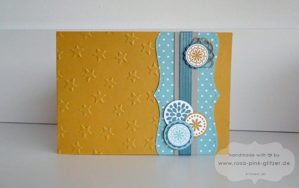 Stampin up Landshut - Tunnel Card Honiggelb Mixed Bunch 1 Kopie