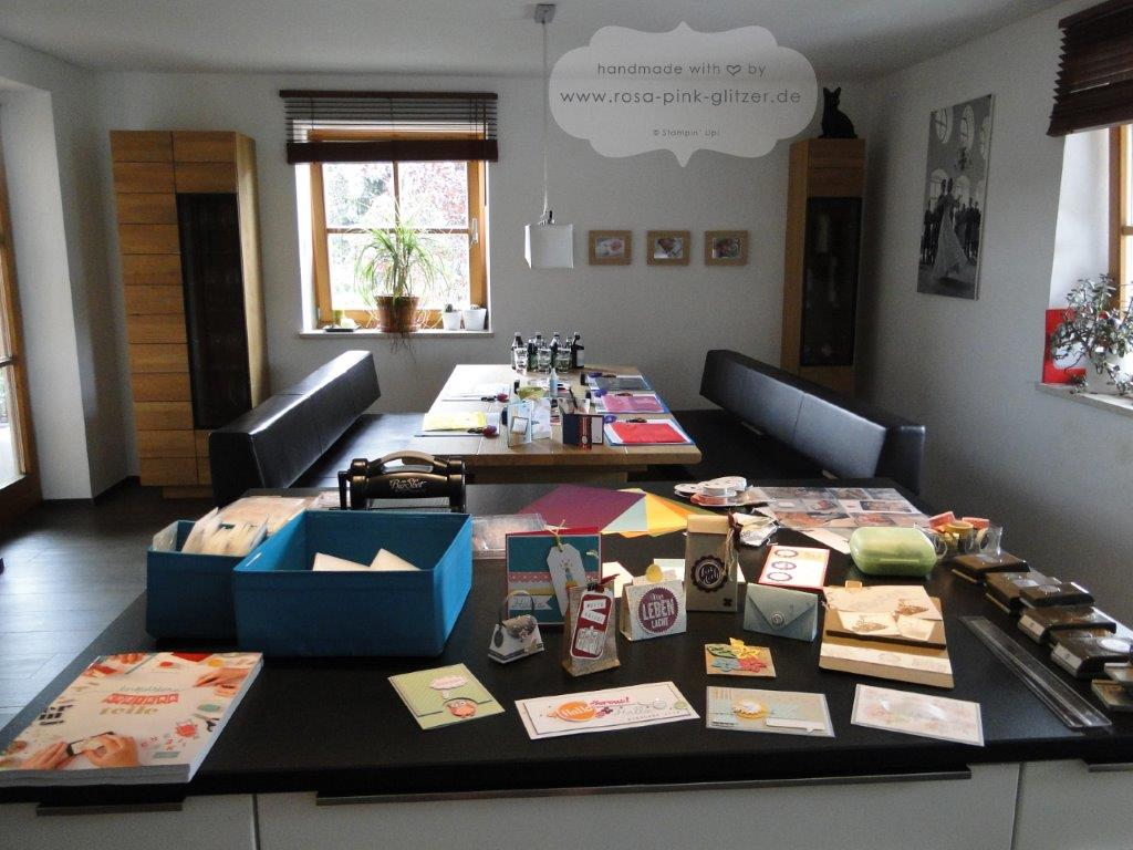 Stampin up Landshut - Workshop Stempelparty August 2014 2