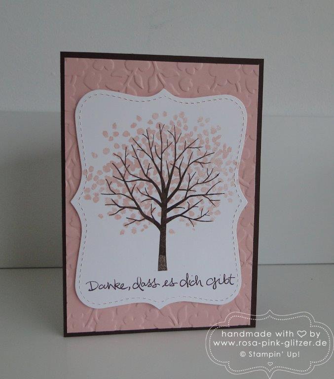 Stampin up Landshut - Baum der Freundschaft Marion