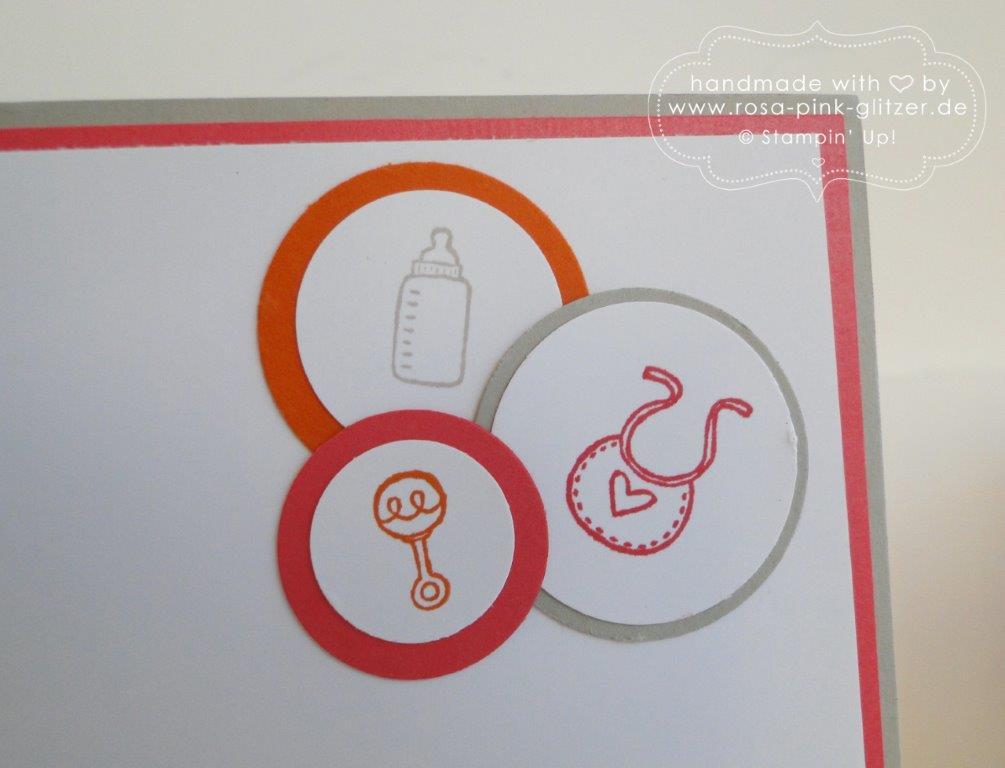 Stampin up Landshut - Babykarte Kleine ganz groß 5