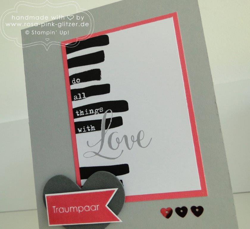 Stampin up Landshut - imc - Hochzeitskarten project life 7