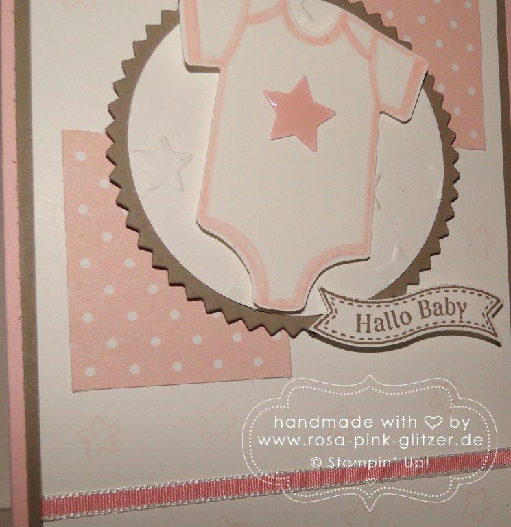 Stampin up Landshut - Babykarte imc 4