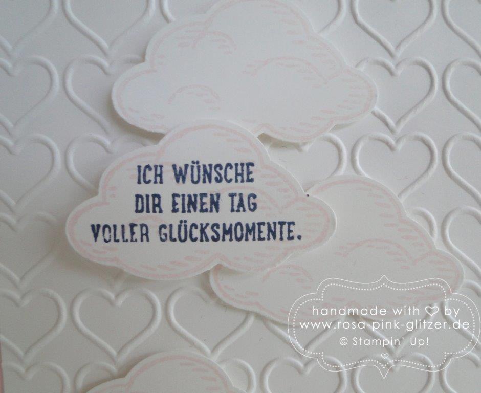 Stampin up Landshut - Worte die gut tun, rosa wölkchen 2