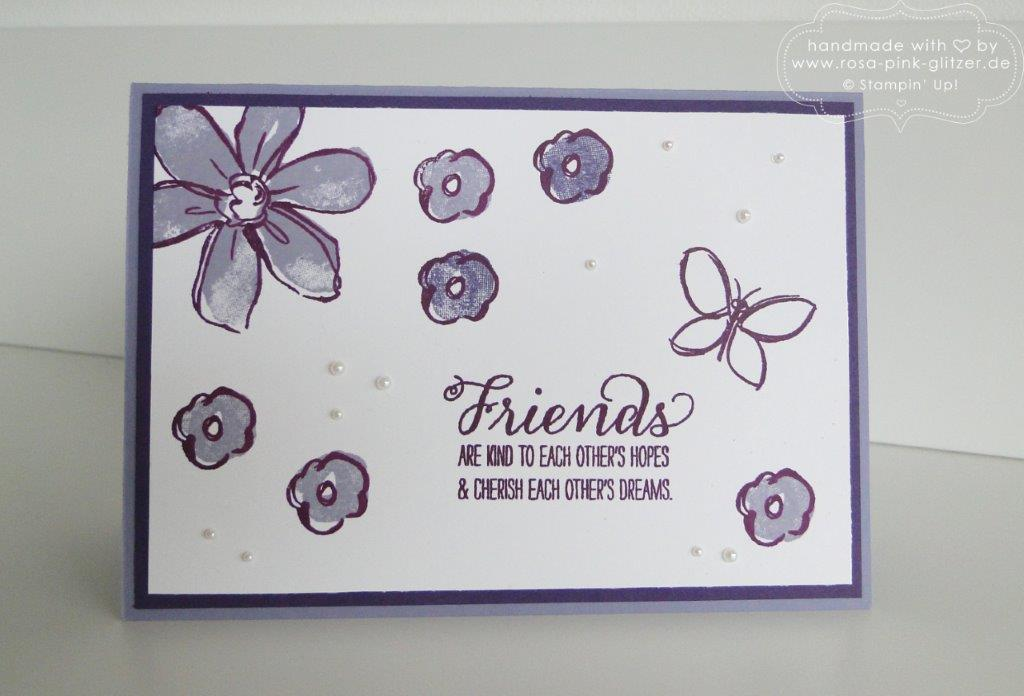 Stampin up Landshut - imc - garden in bloom 1