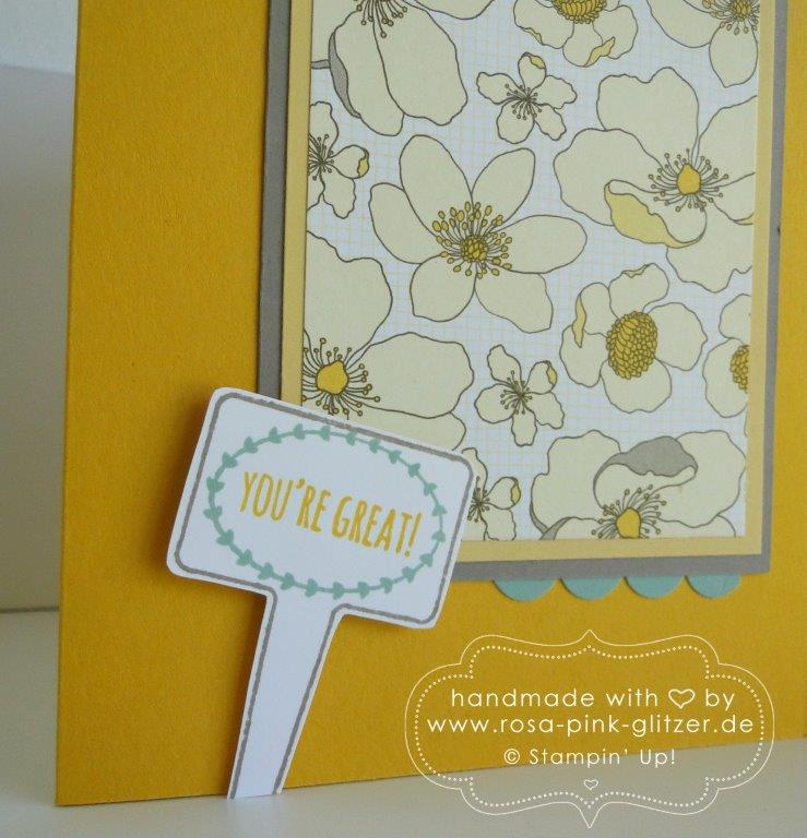 Stampin up Landshut - imc - In the garden 2