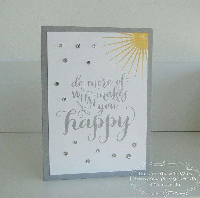 Stampin up Landshut - Kinda Eclectic Happy Life 1