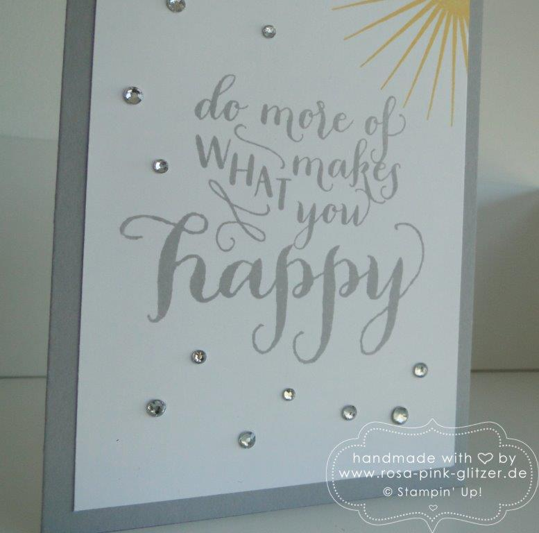 Stampin up Landshut - Kinda Eclectic Happy Life 2