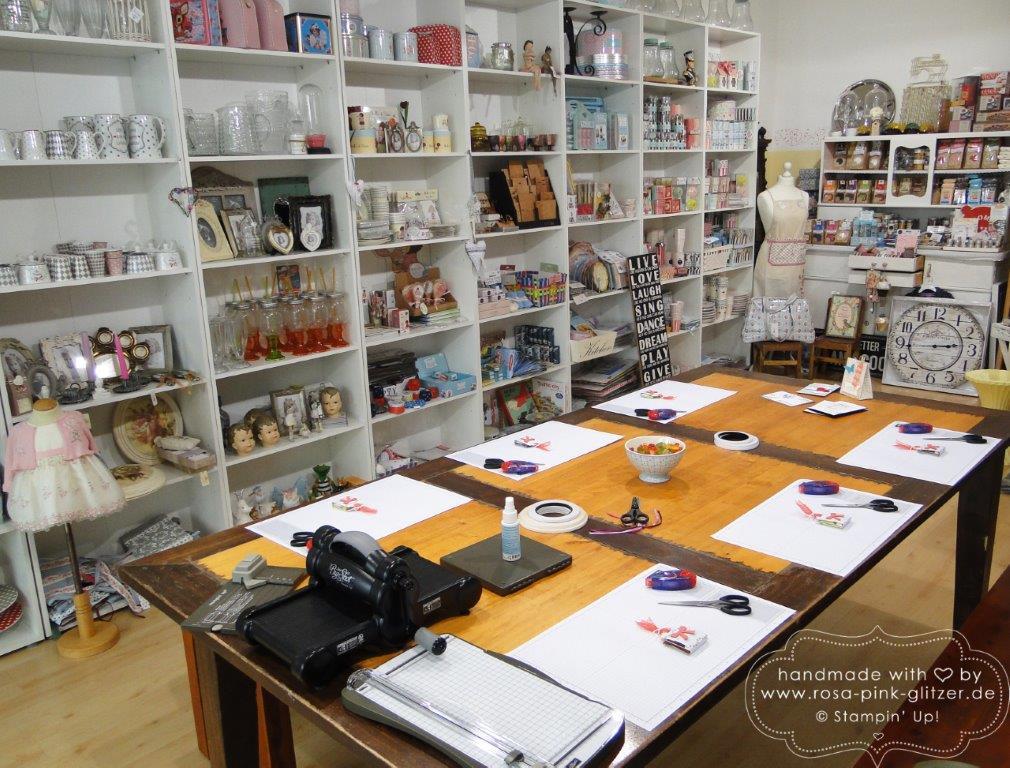 Stampin up Landshut - Workshop bei Fräulein Moni Mai 2015 1