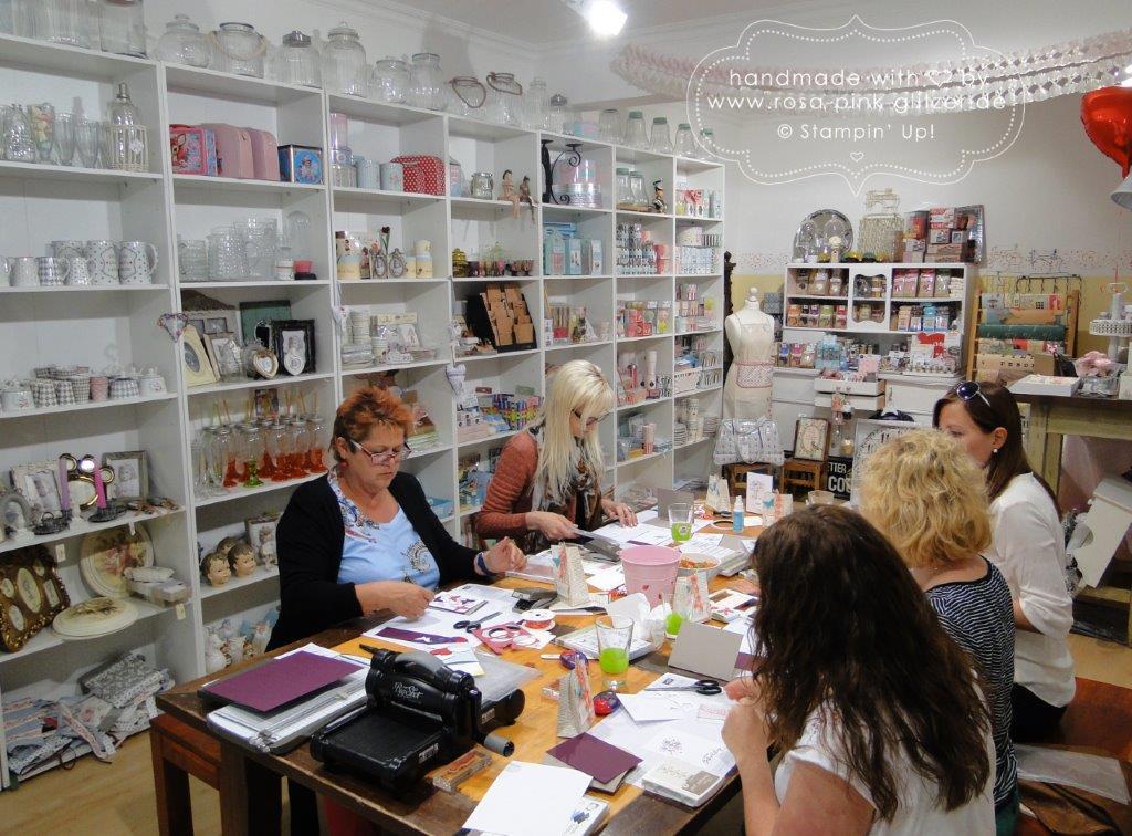 Stampin up Landshut - Workshop bei Fräulein Moni Mai 2015 4