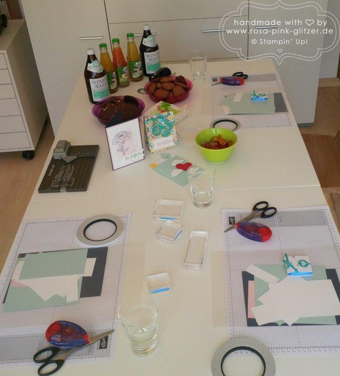 Stampin up Landshut - Workshop Stempelparty Mai 2015 1